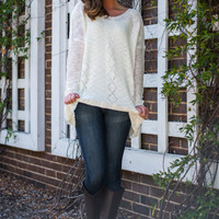 The Twilight Sweater, White