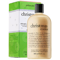 philosophy Christmas Cookie Shampoo, Shower Gel & Bubble Bath