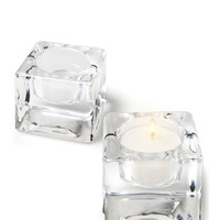 "Product: 2"" x 2"" - Square Tealight Wedding Favors -"
