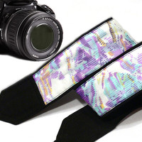 Abstract Design Camera Strap. Nikon, Canon Camera Strap. Dslr Camera Strap. Accessories