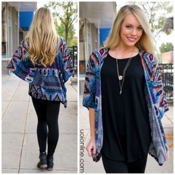 From The Valley Cardi - NAVY /