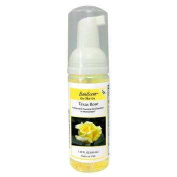 Texas Rose Foaming Instant Hand Sanitizer 1.83 oz.