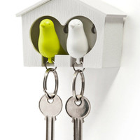 Let's go out with little bird! DUO Sparrow Key Ring - Matomeno
