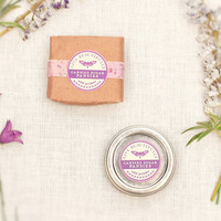 Perfume, Candied Sugar Pansies - Sweet and Lush Botanicals - All Natural Solid Fragrance