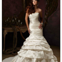 Crystal Beaded Appliques on Taffeta Sweetheart Mermaid Floor Length Gown Style 1242 $188.61 only in eFexcity.com.