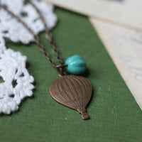 full of hot air necklace by violet bella - $15.99 : ShopRuche.com, Vintage Inspired Clothing, Affordable Clothes, Eco friendly Fashion