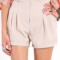 Natural Sophistication Paperbag Shorts - &amp;#36;33.00 : ThreadSence.com, Your Spot For Indie Clothing  Indie Urban Culture