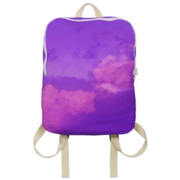 Purple Sky Backpack created by ErikaKaisersot | Print All Over Me