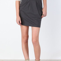 Pleated Jersey Knit Skirt - &amp;#36;30.00 : ThreadSence.com, Your Spot For Indie Clothing  Indie Urban Culture