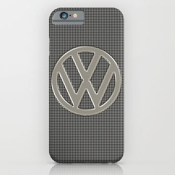 VW Silver Grill iPhone & iPod Case by Alice Gosling