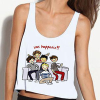 One Direction Vas Happenin Cropped Tank