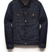 Classic Denim Jacket Denim Washed
