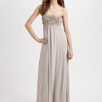 Design History - Chiffon Flowers Maxi Dress - Saks.com