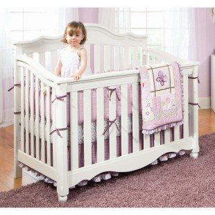 Lea Spring Garden Convertible Crib - 418-990
