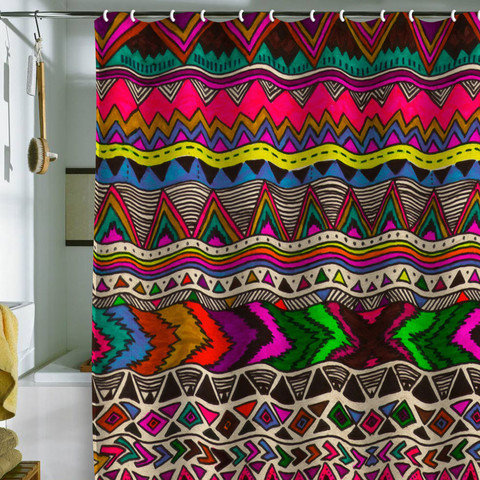 DENY Designs Home Accessories | Kris Tate Poncho Shower Curtain