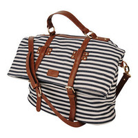 Striped Shoulder Bag | FOREVER21 - 1011671092