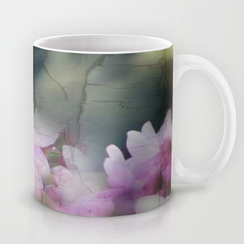 Sometimes When One Least Expects It Spring Breaks Through!  Mug by Louisa Catharine Forsyth #society6 #hope #love
