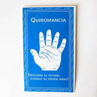 Hoja de Quiromancia Palm Reading Chart