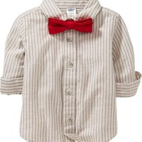 Shirt & Bow-Tie Sets for Baby