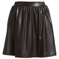 izzue Pleated Faux Leather Skirt (Women) | Nordstrom