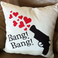 Bang Bang gun pillow