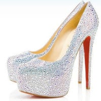 Swarovski Crystal High Heels By RochelleAlysia
