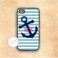 Anchor Nautical Stripes Custom Mono.. on Luulla