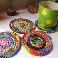 Cosmic Joy Coasters - Set of 4