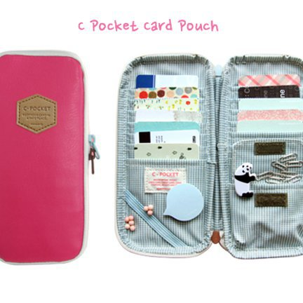 C Pocket Card Pouch