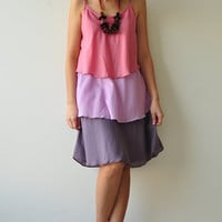 Magic Three  ...PinkCotton dress