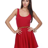 Jitterbug Red Dress
