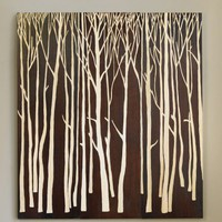 VivaTerra - Hand-Carved Birch Forest Panels - VivaTerra
