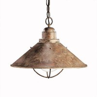 Kichler - 2713OB - Seaside Pendant in Olde Brick | CSN Lighting