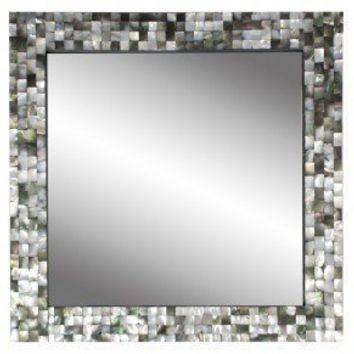 Black Mother Of Pearl Mirror