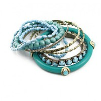Vintage Bohemian Bead Bracelet Pack