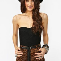 Borderline Bustier - Black