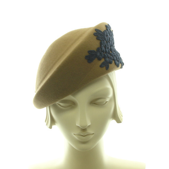 beret hat for 1940s style hat from