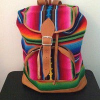 Tuanis — Vibrant Multicolor Tuanis Day Bag