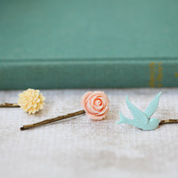 spring is here hair clips