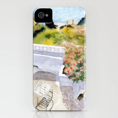 Greek Memories No. 6 iPhone Case by Vargamari | Society6
