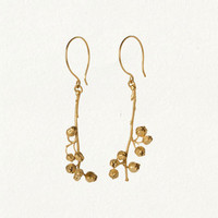 terrain: Vermeil Blueberry Earrings