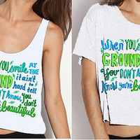 What Makes You Beautiful Lyric Shirt PREORDER