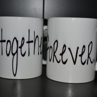 Bride and Groom Coffee Mug Set 0f  2