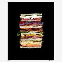 JSx55 - Dagwood Scanwiches Print by Jon Chonko @Scanwiches @JSx55