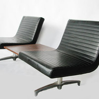 Vintage Tandem Seating Unit