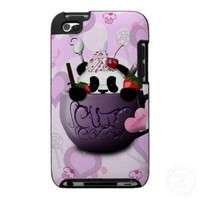 Cute Cocoa Panda Ipod Touch 4g Cases from Zazzle.com