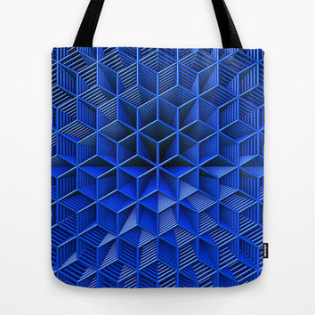 It's Blue Tote Bag by Lyle Hatch