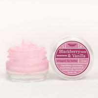 Whipped Lip Butter - Blackberry & Vanilla - Natural Icing for Your Lips