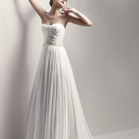 Wholesale A-Line Sweetheart Floor Length Gown with Chiffon CHAMBORD for $182.00 from China : IndeedBuyer.com.  - IndeedBuy