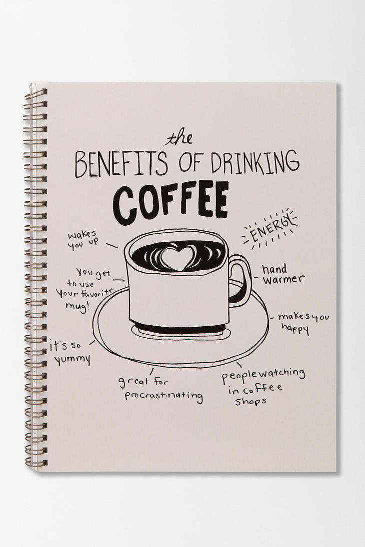 Spiral Notebook - Coffee